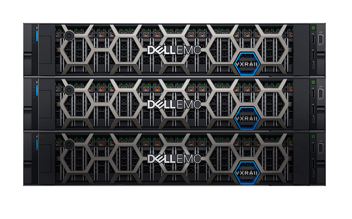 VXRail Boxes Stack